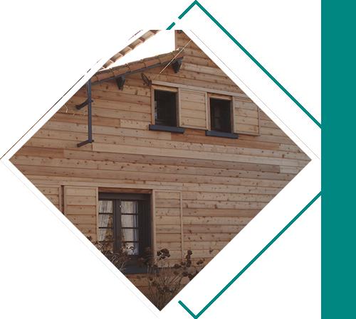 Réalisation d'ossature bois, de charpente et de bardage par SPV Menuiserie en Vendée
